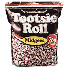 Tootsie Advantus Roll Midgees Candy Chocolate