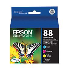 Epson DURABrite Ultra T088120 BCS BlackCyanMagentaYellow
