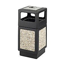 Safco PlasticStone Aggregate Receptacle 38 Gallons