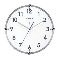 Sharp Atomic Round Wall Clock 11
