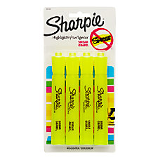 Sharpie Accent Tank Style Highlighters Fluorescent