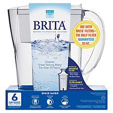 Brita Space Saver 6 Cup Water