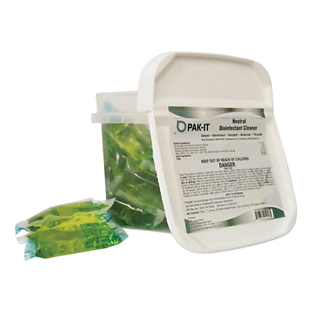 Big 3 packaging pak it neutral disinfectant surface for Surface container