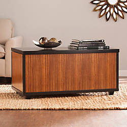 Southern Enterprises Ryecroft Trunk Cocktail Table