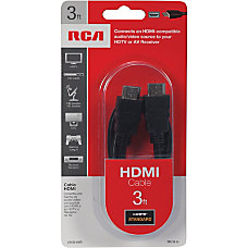 RCA VH3HHR 3 Ft HDMI Cable