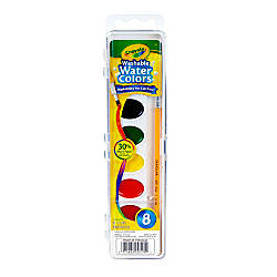 Crayola Washable Watercolor Set With Brush