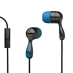 JLab JBuds Hi-Fi Noise-Reducing Earbuds, Black/Blue