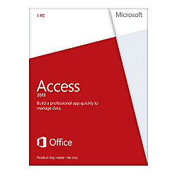 microsoft office access 2013 english version product key