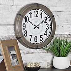 FirsTime Rustic Wall Clock 14 x