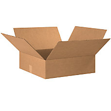 Office Depot Brand Flat Corrugated Cartons