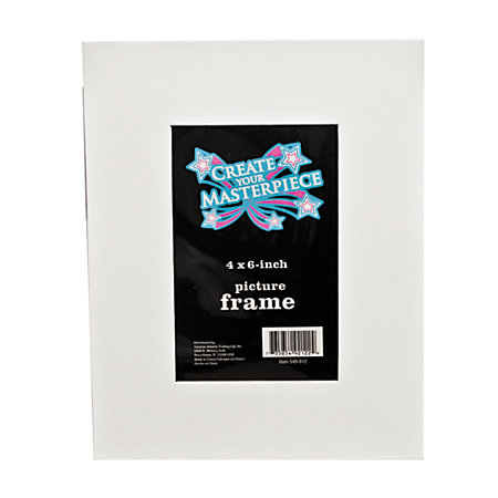 office depot brand write on picture frame white by office depot