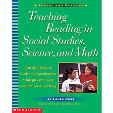 Scholastic Teaching Reading In Social Studies