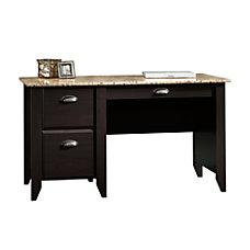 Sauder Samber Desk GraniteJamocha Wood