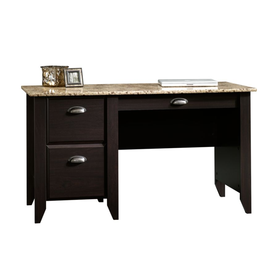 sauder samber desk granitejamocha woodoffice depot & officemax