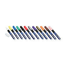 SKILCRAFT Oil Based Paint Markers Fiber