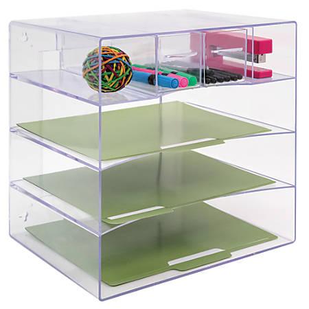 Innovative Storage Designs Desktop Organizer 6 ...