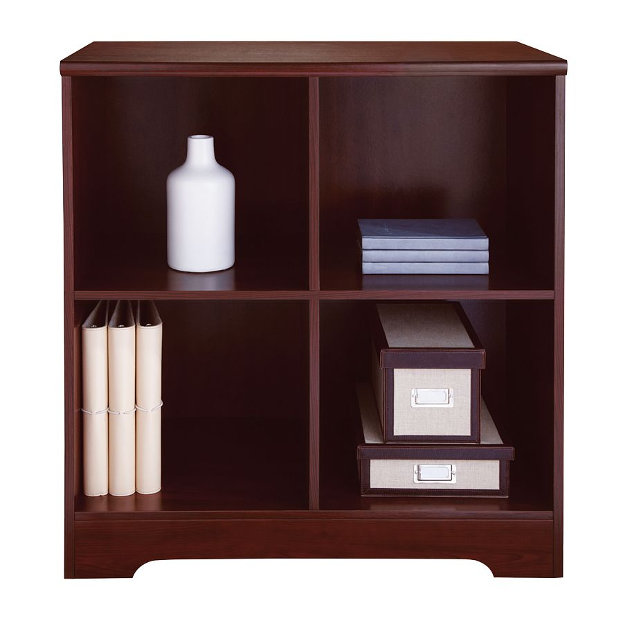 Reale Magellan 4 Cube Bookcase Clic Cherry By Office Depot Officemax