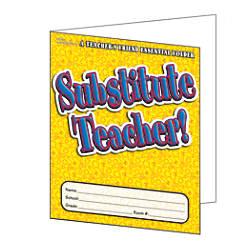 Scholastic Teacher Resources Substitute Teacher Essential