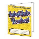Scholastic Substitute Teacher Folder 9 12