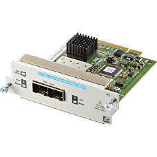 HP 2920 2 port 10GbE SFP