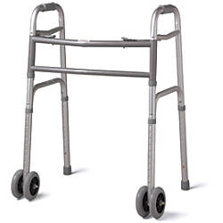 Guardian Bariatric Folding Walker 5 Wheels