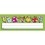 Scholastic Name Plates School Time 12