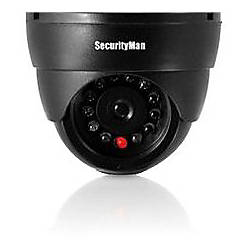 SecurityMan Dummy Indoor Dome Camera WLED