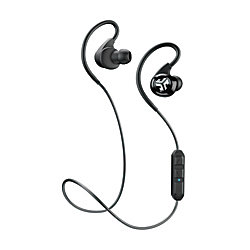 jlab epic bluetooth 4 0 wireless sports earbuds black by office depot officemax. Black Bedroom Furniture Sets. Home Design Ideas