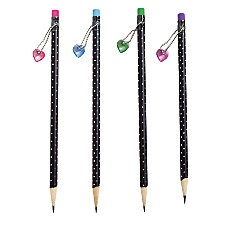 Wood Fashion Pencil With Topper 2