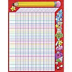 Scholastic Practice Chart School Time Incentive