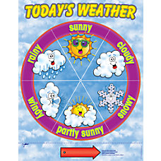 Scholastic Practice Chart Weather Dial 17