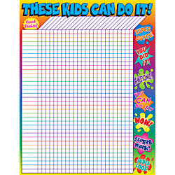 Scholastic Practice Chart Super Words Incentive