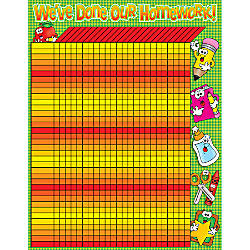 Scholastic Practice Chart Homework Incentive 17