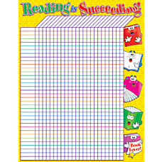Scholastic Practice Chart Reading Incentive 17