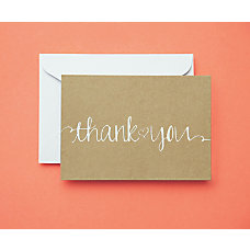 BRIDES Sweetheart Thank You Cards 5