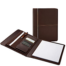 FORAY Padfolio 13 x 10 Brown