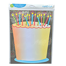 Gartner Studios Stationery Sheets Birthday Cake
