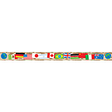 Scholastic Bulletin Board Border International Flags
