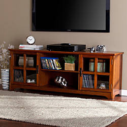 Southern Enterprises Remington Wooden TVMedia Stand
