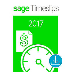 Sage Timeslips 2017 Time and Billing