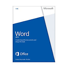 Microsoft Word 2013 3264 bit License