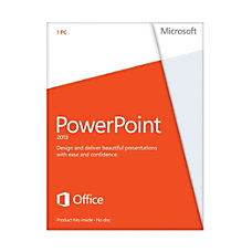 Microsoft Office PowerPoint 2013 English Version