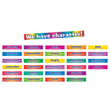 Scholastic Character Signs 18 x 24