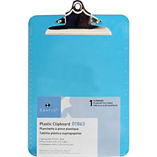 Sparco Plastic Clipboard 8 12 x