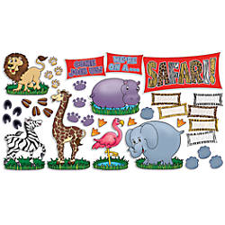 Scholastic Safari Animals Welcome Sign 18