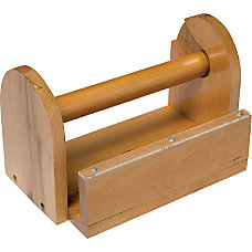 ChenilleKraft Tape Holder Wood Holds 8