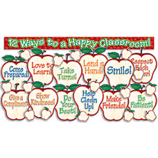 Scholastic Apples Bulletin Board Set 18
