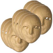 ChenilleKraft Paper Mache Masks 8 x