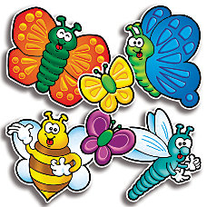 Scholastic Bulletin Board Accents BeesBugs 9