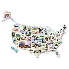 ChenilleKraft Wonderfoam Giant USA Photo Puzzle